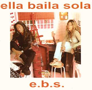 Carátula del disco e.b.s. (1998)