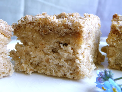 Apple Streusel Coffee Cake (Gluten-Free, Vegan) (Print-Friendly Option