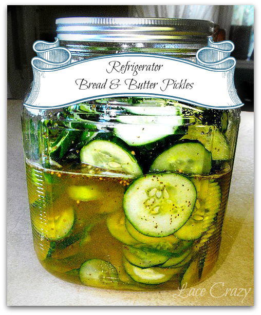 Refrigerator Pickle Recipe's...