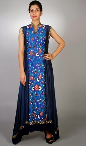 Embroidered Dress Designs for Wedding Parties