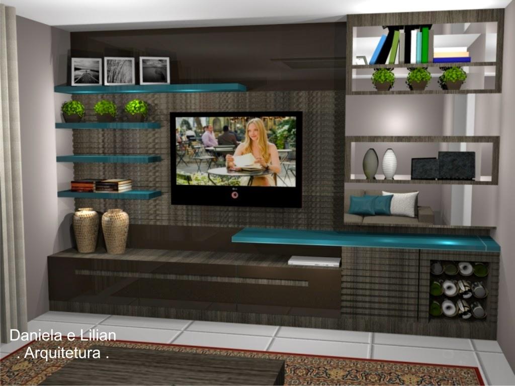 Viana e Lilian Maravai  Arquitetura Escritório + Sala de Tv