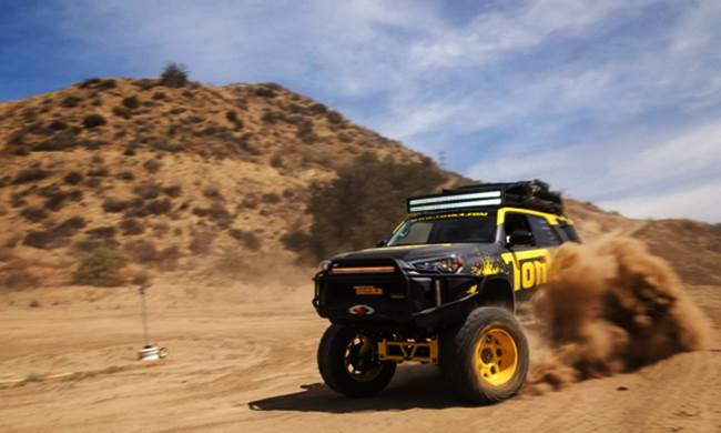 What it's Like to Drive a Toyota 4Runner Tonka Truck