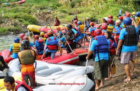 Rafting Murah di Sungai Elo Magelang