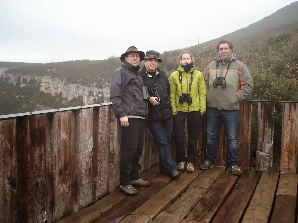 Ruta invernal, P.N. Hoces del Alto Ebro y Rudrón