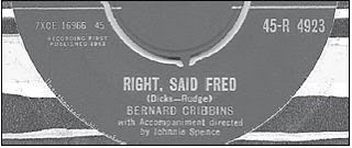 Waar bandnaam Right said Fred vandaan komt - Right, said Fred single by Bernard Cribbins