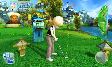 screenshot Let's Golf! 3 , The best android golf apps 2