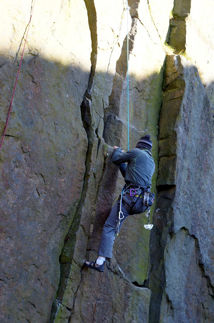 Ilkley, yorkshire, climbing, trading, outdoors, cow and calf, quarried grit, uk
