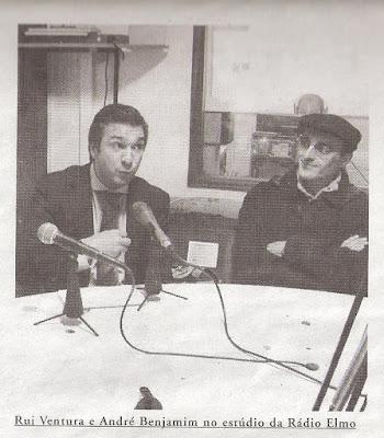 André Benjamim, Rui Ventura, Rádio Elmo