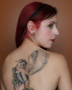 Sexy tattoo art body design