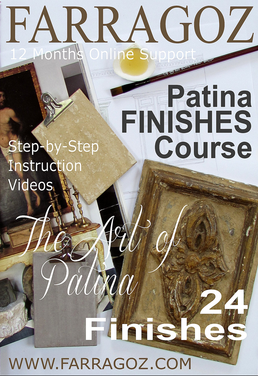 FARRAGOZ Patina FINISHES Course