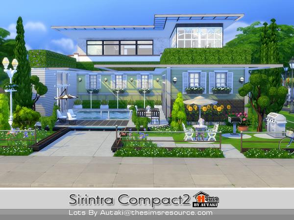 Casa moderna sirintra compact the sims 4 pirralho do game for Casa moderna sims 2