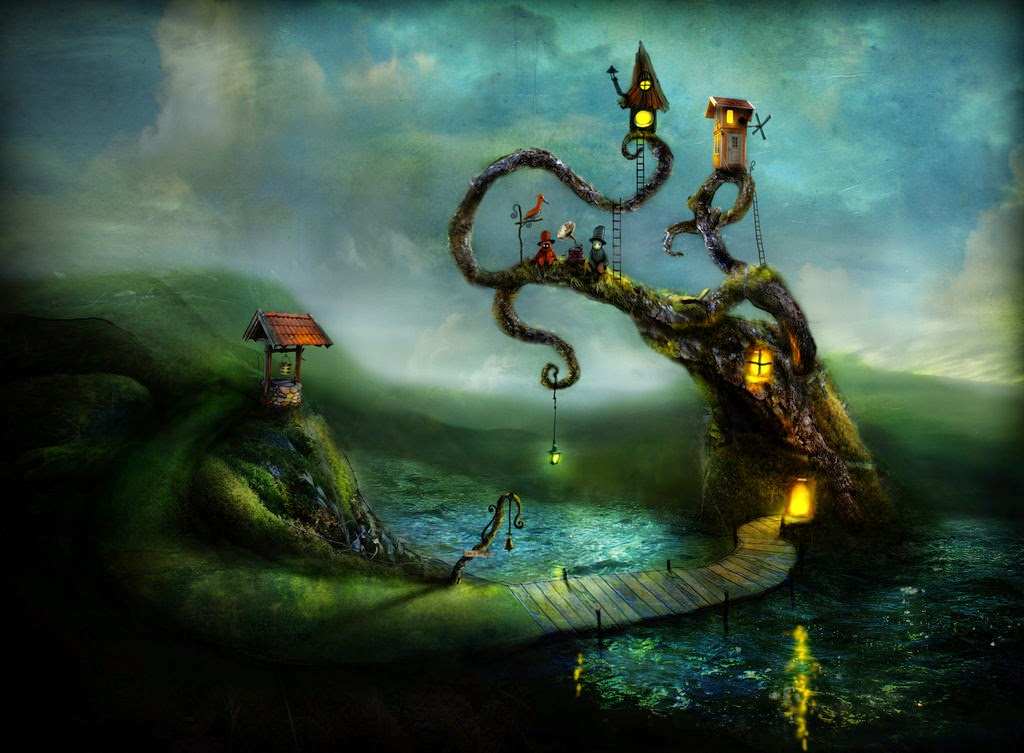 07-Alexander-Jansson-Fairy-tale-Worlds-in-Surreal-Paintings-www-designstack-co