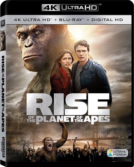 Rise Of The Planet Of The Apes 4K (El Planeta De Los Simios (R)Evolución 4K) (2011) 2160p 4K UltraHD HDR BluRay REMUX 29GB mkv Dual Audio DTS-HD 5.1 ch