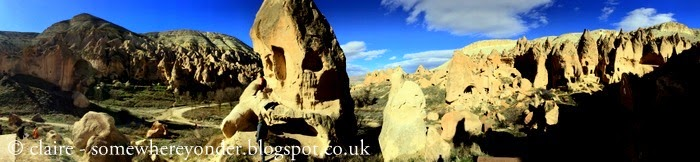 last but not least - Zelve Open-Air Museum.  A must see if you are ever in Cappadocia