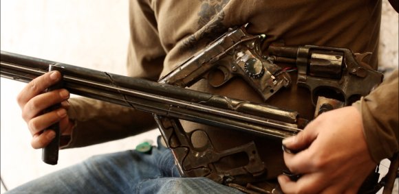 pedro reyes escultura armas em instrumentos musicais