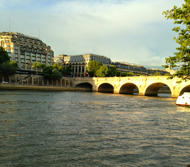 river seine cruise night