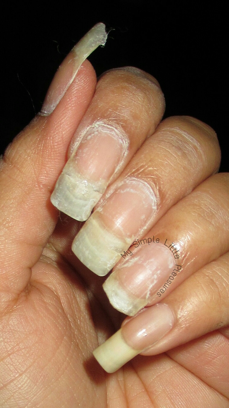 My Simple Little Pleasures: New Year's Naked Nails Before ...