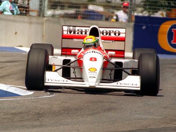 1993 Carro Ayrton Senna Fórmula 1 Mclaren