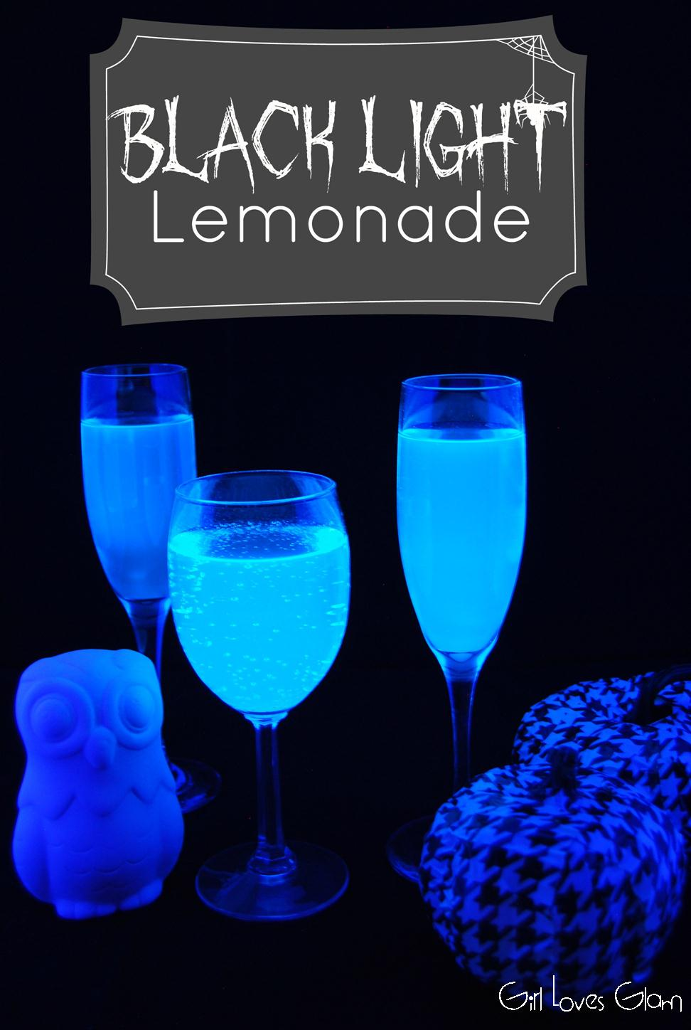 black light lemonade - Easy Alcoholic Halloween Punch