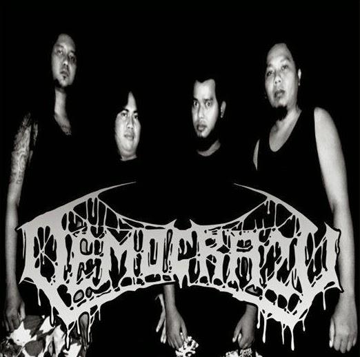 Democrazy Band Death Metal Cilacap foto personil logo artwork wallpaper