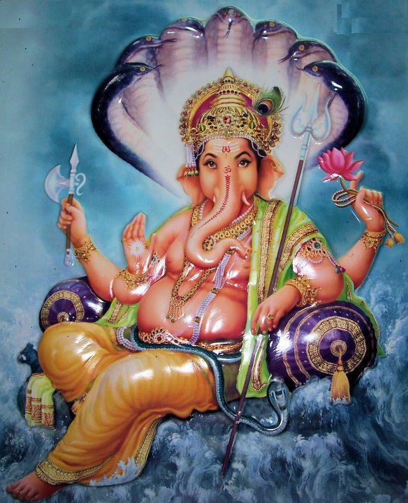 Shri Ganesh Hd Wallpaper: Hare Krishna: Shri Ganesh Wallpaper-1