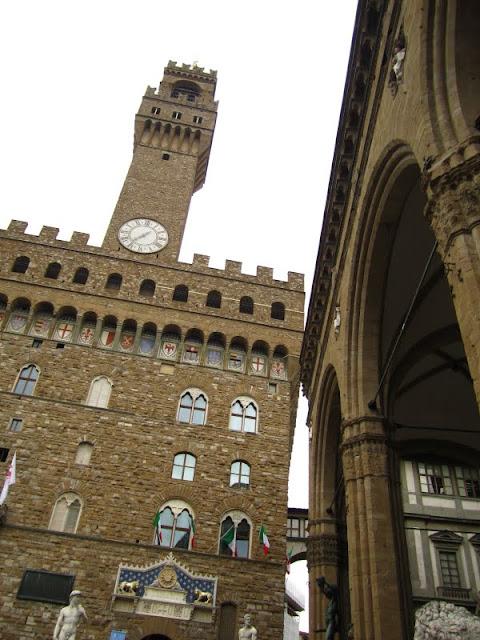 Palazzo Vecchio, AKA City Hall. Florence, Italy.