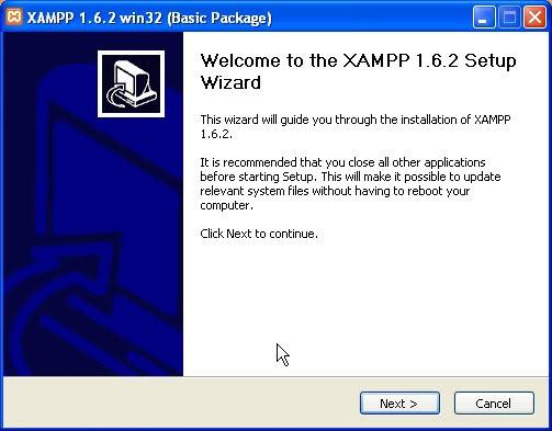 Gambar 3 Setup Wizard