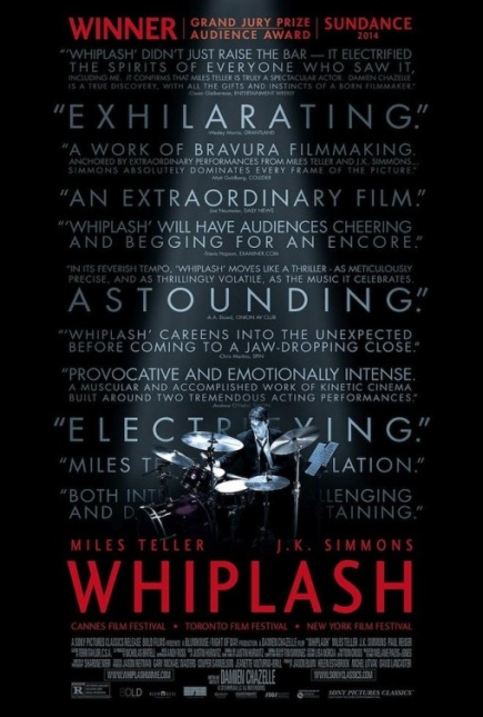 WHIPLASH (2014) movie review by Glen Tripollo