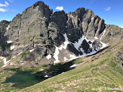 Crestone, upper colony lake, colorado, 14ers, rockies