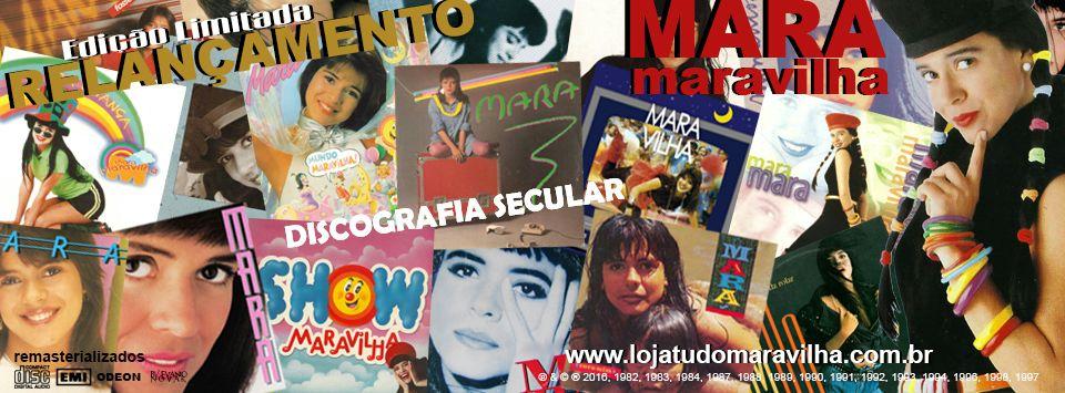 Mara Relançamentos Discografia Secular Remasterizada Pre Venda