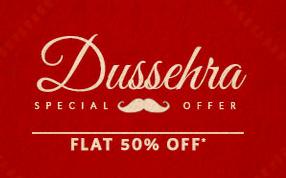 Myntra Dussehra sale – Flat 50% off