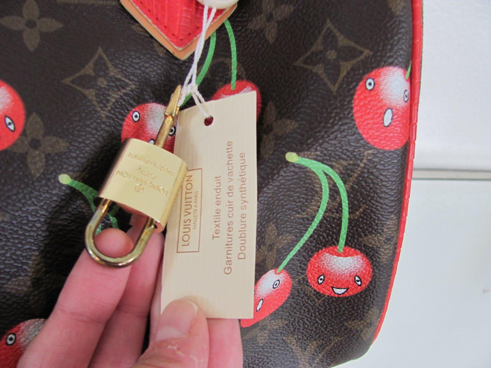 Takashi Murakami x Luis Vuitton Collab Cherry Handbag/Purse