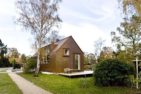 Dise o de casas fachadas de viviendas fotos e ideas de - Disenos casas de madera ...