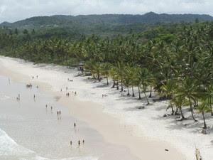 Itacaré é uma cidade turística no sul da Bahia (Foto: Glauco Araújo/G1)