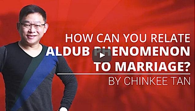 Relating ALDUB on Marriage