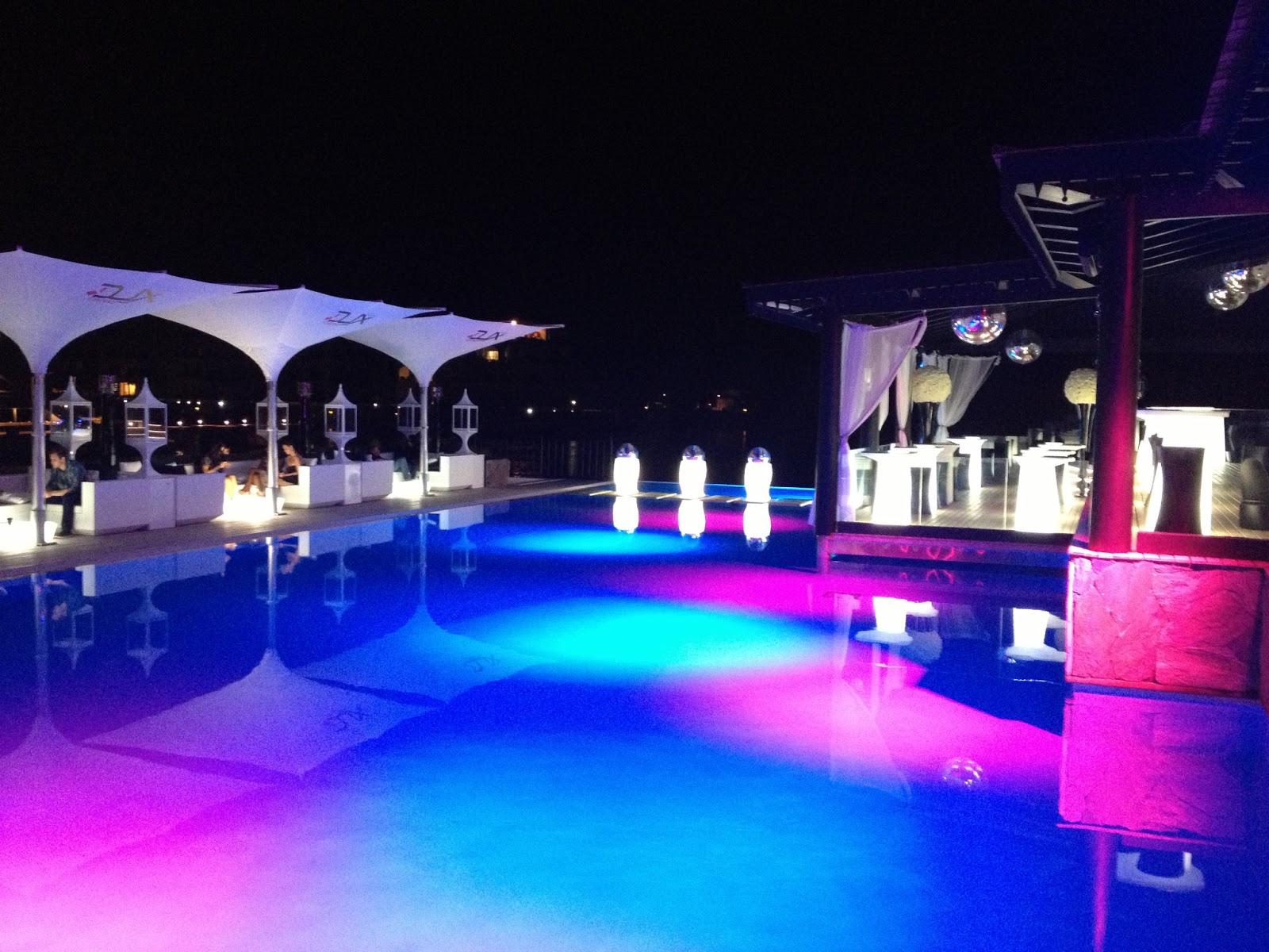 Arquitectura y construccion dux en cap cana - Luces piscina led ...