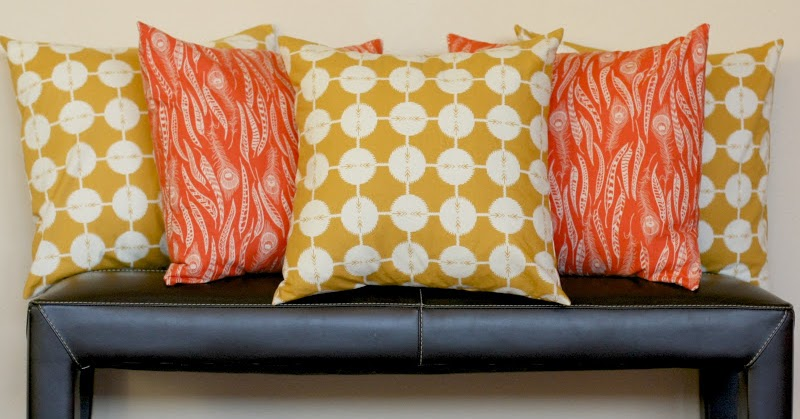 Stitched Together: How to Sew Your Own Throw Pillow Covers {in Five Easy Steps}