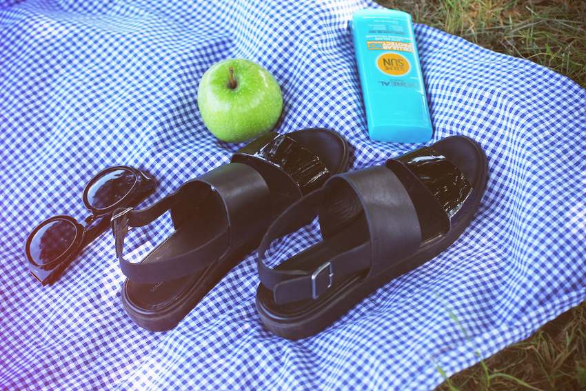 picnic fashion blogger