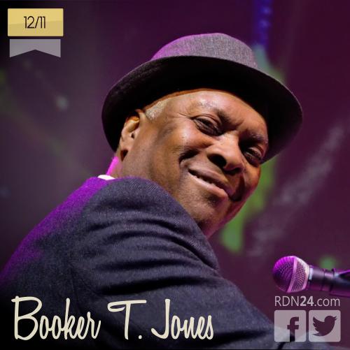 12 de noviembre | Booker T. Jones - @BookerTJones | Info + vídeos