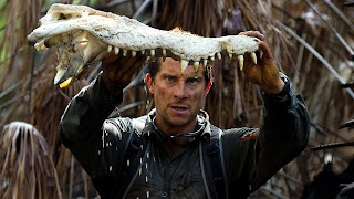 Bear Grylls machoire de crocodile