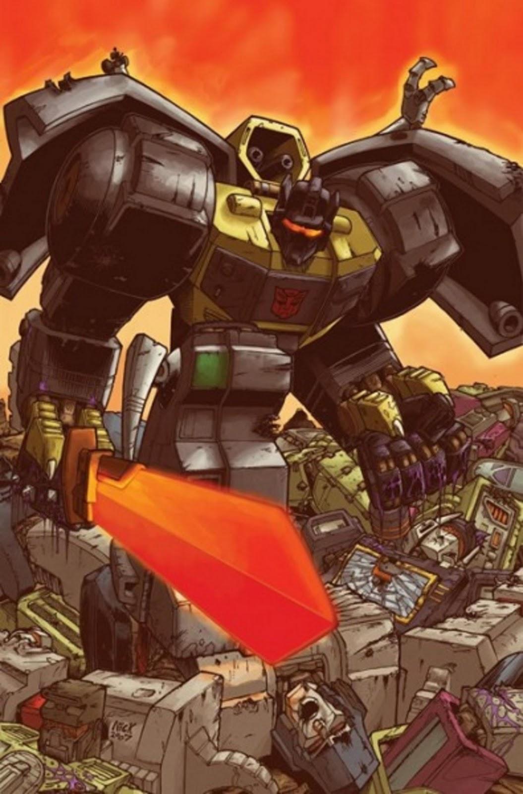 TRANSFORMERS MATRIX WALLPAPERS: Grimlock G1 3D Transformers 3 Bumblebee Vs Megatron