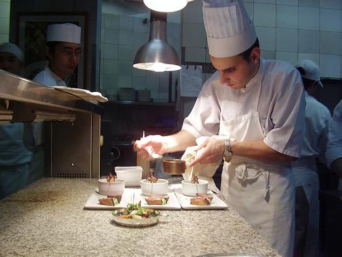 food ready  chef de partie