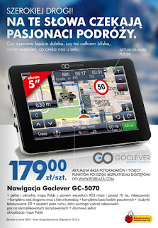 Nawigacja Goclever GC-5070 Biedronka ulotka