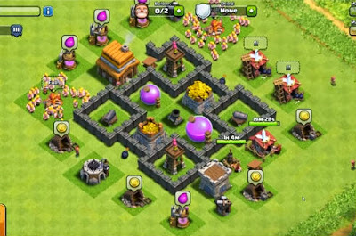 town hall 4 base design