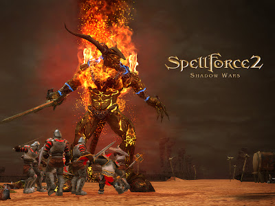 Spellforce part 2 PC Game Poster Download Link
