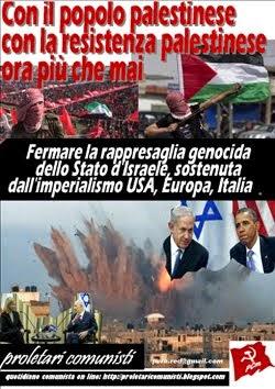Con il popolo palestinese