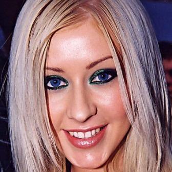 Christina Aguilera smile