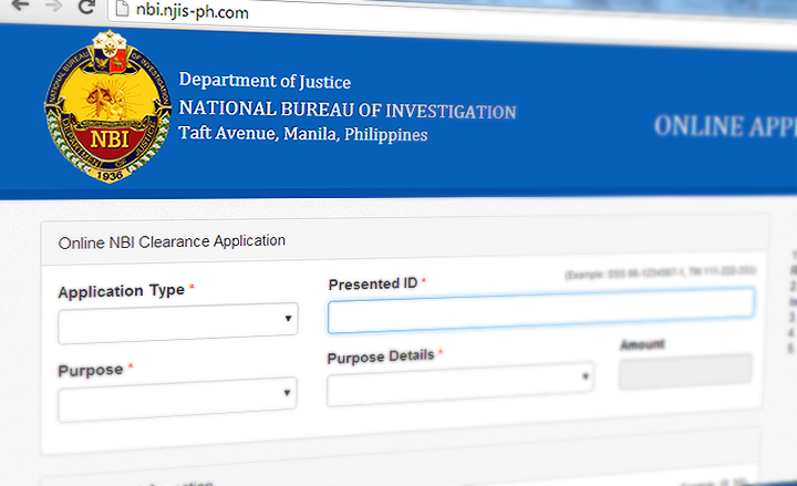 Online NBI Clearance Application System