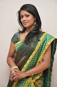 glamorous Anu Sri saree photos-thumbnail-6