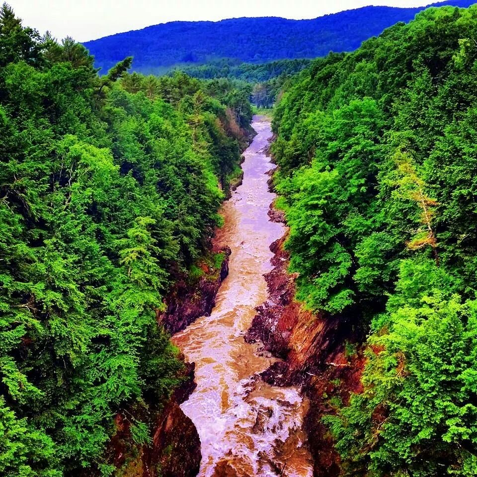 Quechee Gorge, Quechee VT Travel the East